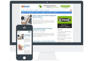 Download Mysocial Tema WordPress Responsive Gratis
