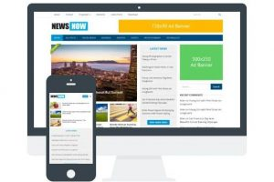Download NewsNow Tema WordPress Responsive Gratis