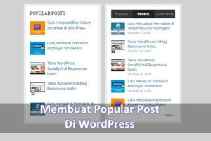 membuat popular Post di Wp