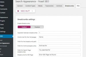 Membuat Breadcrumb di Wordpress