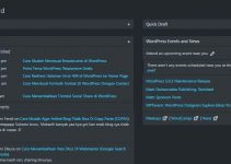 Cara Mengaktifkan Dark Mode Di Dashboard Admin WordPress