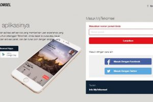 Cek Sisa Kuota Simpati Telkomsel Via Website